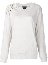 Thomas Wylde 'Hey Day' Sweatshirt White