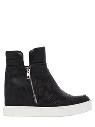 Steve Madden 80Mm Perforated Wedge Sneaker Boots