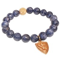 Aiden Chase Wizardly Royal Sapphire Bracelet Gold