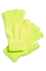 Men's The Rail Fingerless Gloves Yellow 2 For 16 Volt Yellow