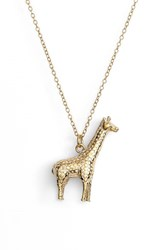 Women's Anna Beck Large Giraffe Pendant Necklace