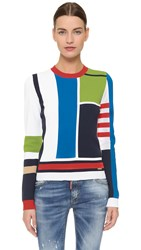 Dsquared Long Sleeve Pullover Multi