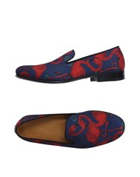 Marc Jacobs Footwear Moccasins Men Dark Blue
