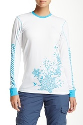Helly Hansen Active Flow Long Sleeve Tee White
