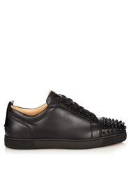 Christian Louboutin Louis Spike Embellished Trainers Black