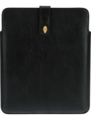 Alexander Mcqueen Skull Tablet Sleeve Black