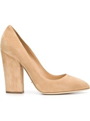 Sergio Rossi Chunky Heel Pumps