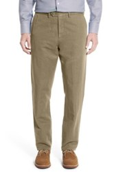 John W. Nordstrom Tailored Fit Chinos Brown