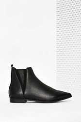 Nasty Gal Harvell Leather Ankle Boot