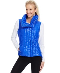 Betsey Johnson Asymmetrical Quilted Puffer Vest Women's Swimsuit