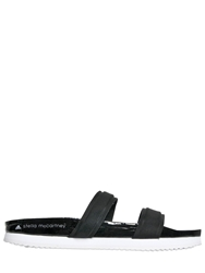 Adidas By Stella Mccartney Weekender Slide Sandals Black White