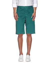 Armani Jeans Trousers Bermuda Shorts Men Green