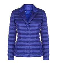 Max Mara Maxmara Weekend Down Puffer Jacket Female Blue
