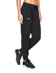 Under Armour Moisture Wicking Track Pants Black