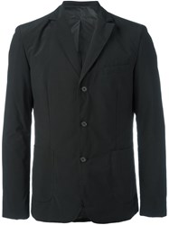 Aspesi Three Button Blazer Black