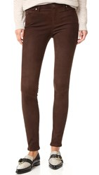Ag Jeans The Leggin Bordeaux Brown