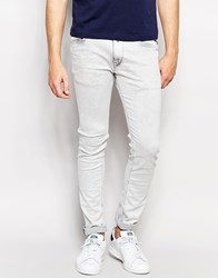 Replay Jeans Jondrill Skinny Fit Powerstretch Bleached Grey Grey