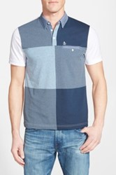 Original Penguin 'Chess Board' Short Sleeve Polo Shirt Multi