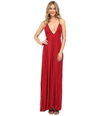 Clayton Simian Dress Crimson Women's Dress Red