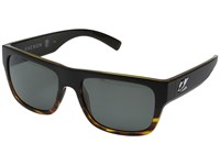 Kaenon Montecito Matte Black Tortoise Fashion Sunglasses