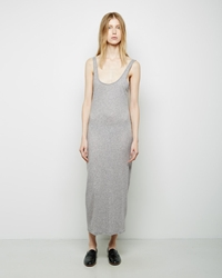 Organic By John Patrick Long Tank Dress Grey