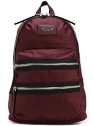 Marc Jacobs Multi Zip Backpack Pink Purple