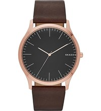 Skagen Skw6330 Rose Gold Plated Stainless Steel Watch
