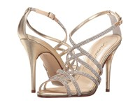 Caparros Fantasia Medium Gold Metallic High Heels