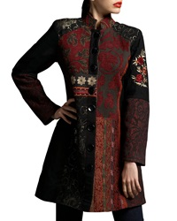 Indikka Patchwork Brocade Jacket