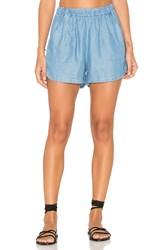 Rvca Sure Shot Short Chambray