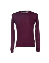 Daniele Fiesoli Knitwear Jumpers Men Garnet