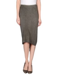 Blayde Knee Length Skirts Lead