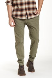 Micros Stretch Twill Jogger Pant Green