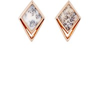 Monique Pean Women's Kite Shaped Studs No Color