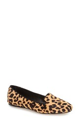 Dolce Vita 'Brannon' Smoking Loafer Women Leopard Calf Hair