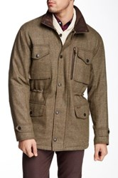 Barbour Tweed Sapper Green Jacket