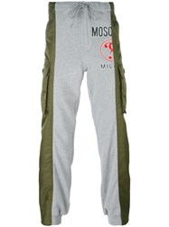 Moschino Hybrid Trackpants Grey