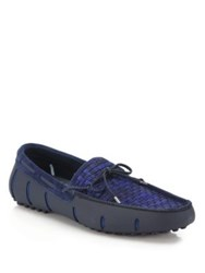 Swims Woven Lace Drivers Navy