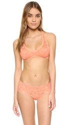 Cosabella Never Say Never Racie Bralette Rose Sand