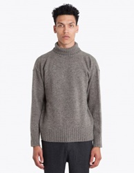 Mhl Margaret Howell Turtleneck Sweater Grey Tres Bien
