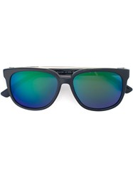 Diesel Tinted Lenses Square Sunglasses Blue