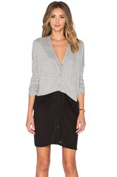 Hye Park And Lune Audrey Sweater Dress Gray