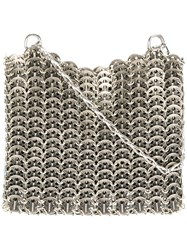 Paco Rabanne Chainmail Shoulder Bag Metallic