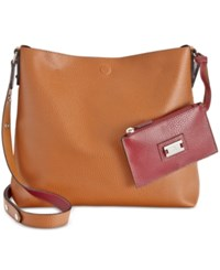 Styleandco. Style Co. Clean Cut Reversible Crossbody Only At Macy's Brown Maroon