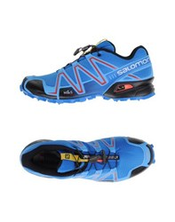 Salomon Footwear Low Tops And Trainers Men Azure