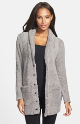 Barefoot Dreams Cozychic 'Relaxed' Cardigan Warm Grey