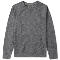 A.P.C X Outdoor Voices A.P.C. Heavy Weight Crew Sweat Grey