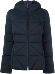 Fay Hooded Down Jacket Blue