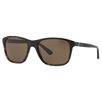Polo Ralph Lauren 0Ph4085 Square Sunglasses Havana