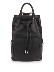 Balenciaga Twisted Detail Leather Backpack